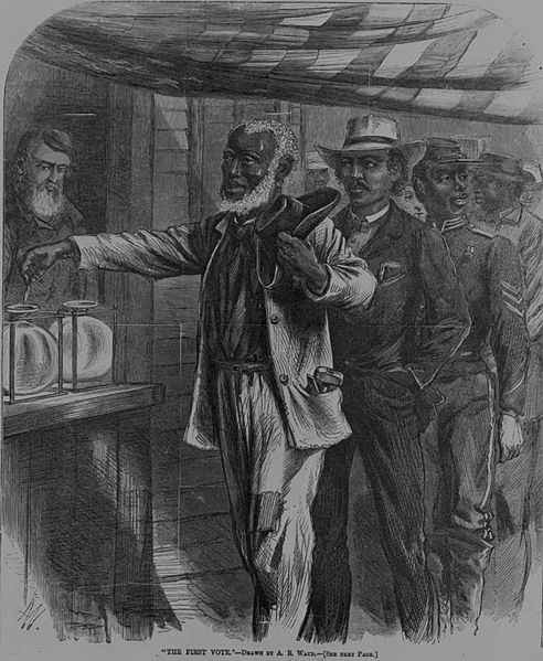 The First Vote For Newly Freed Americans