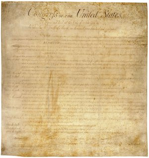 The United States (US) Bill of Rights