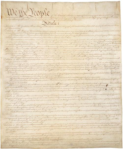 United States (US) Constitution.