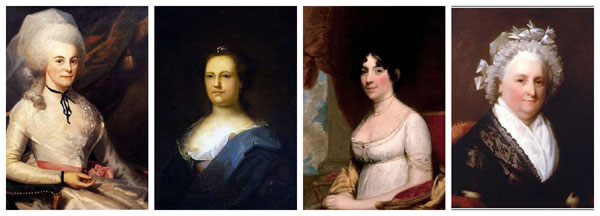 Wives of the Signers of the United States (US) Constitution