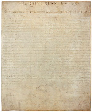 The United States Declaration of Independence 1776