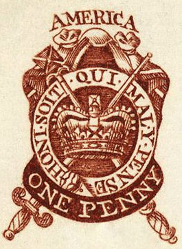 Stamp Act Penny Stamp