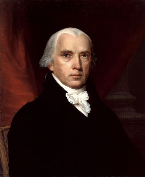 United States (US) President James Madison
