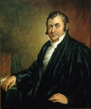 Supreme Court Justice Robert Trimble