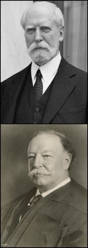 Chief Justices Hughes and Taft