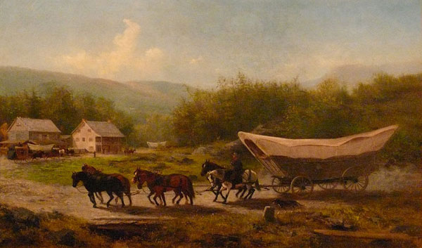 Covered Wagon - Conestoga Wagon