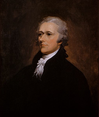 Hamilton Leader of the Federalist Party