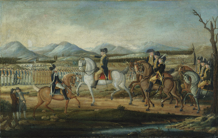 Washington Reviewing the Western Army